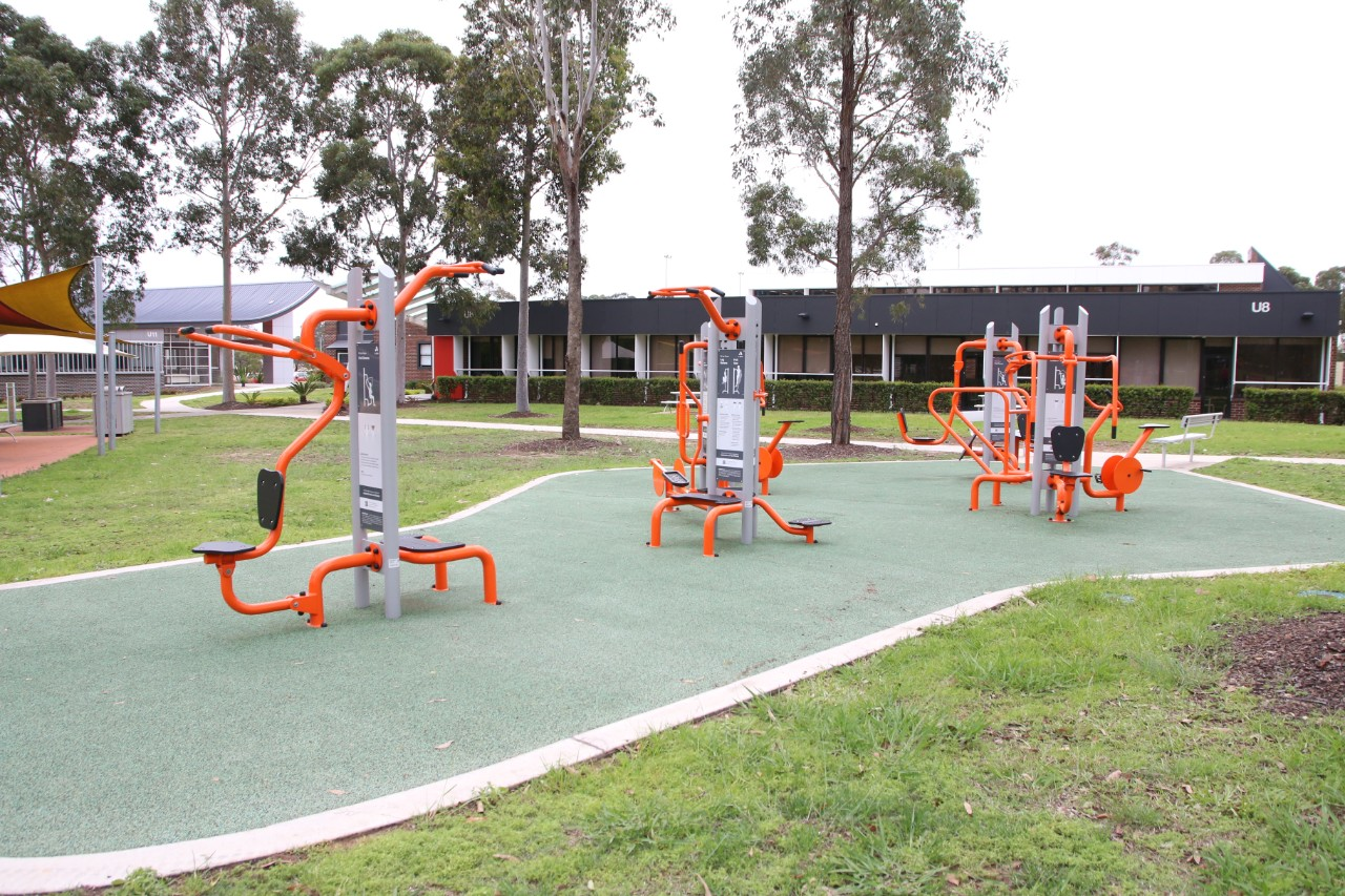 our outdoor fitness equipment
