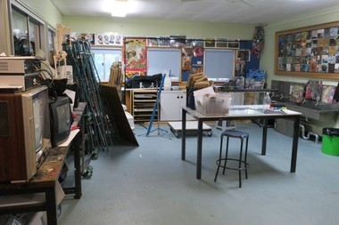 extensive studio space for large scale projects