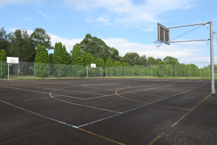 part of our outdoor courts