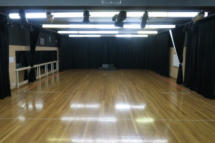 the performance workshop space