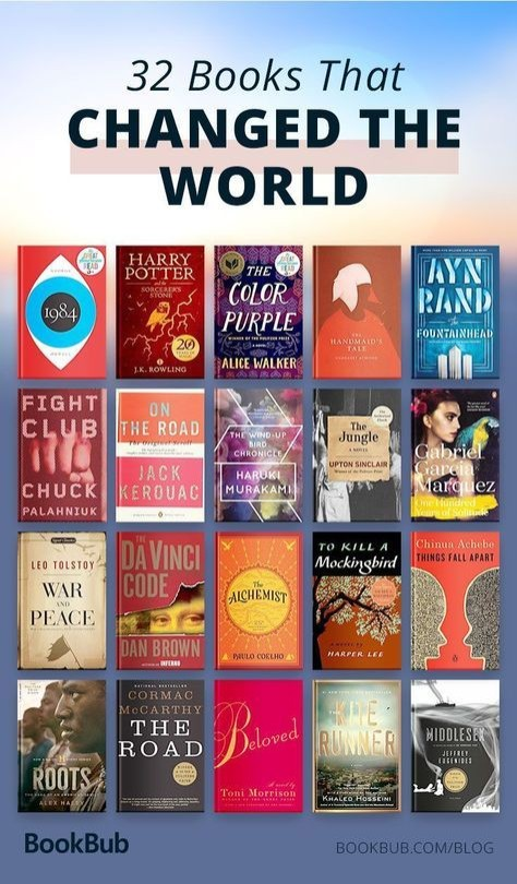 Books that changed the world list