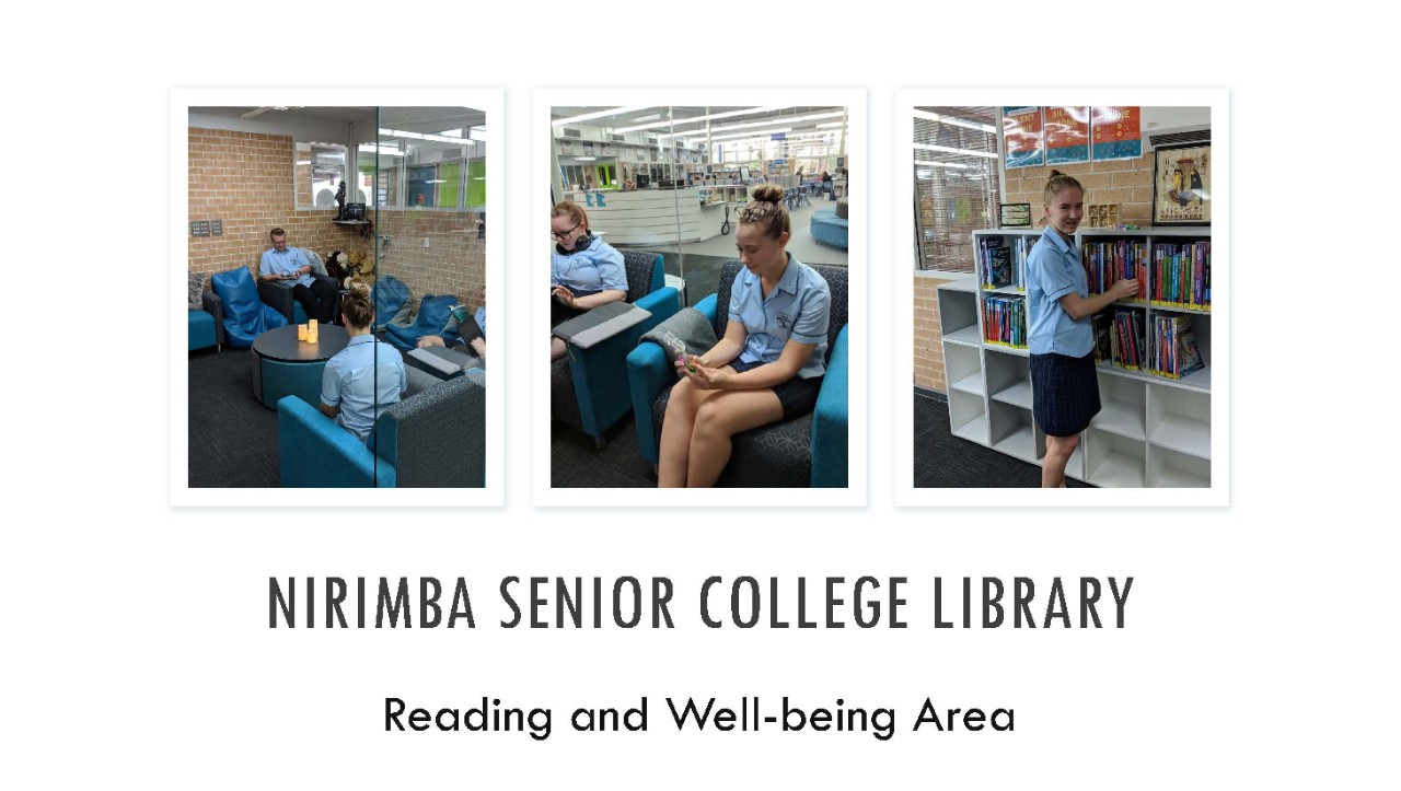 collage of students inside the library