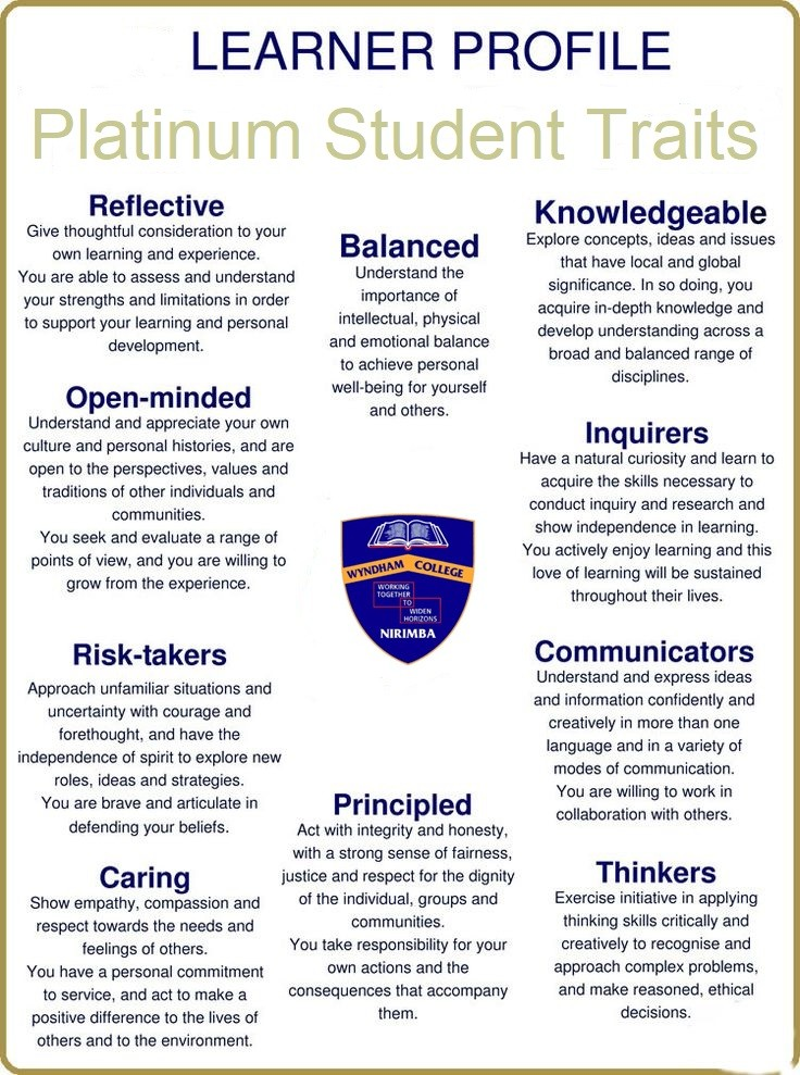 Platinum Learner Profile