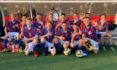 2018 Sydney West open boys football champions - NSWCHS round of 16 finalists