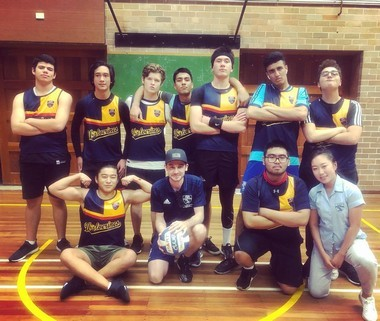 boys' volleyball team