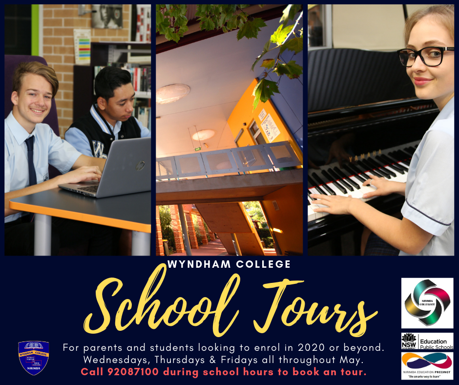 page banner for school tours